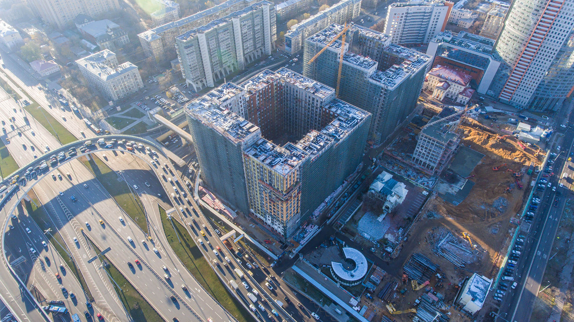 Жилой комплекс МФК Царская площадь